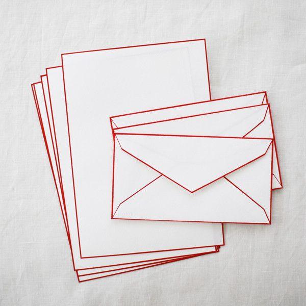 // HAIBARA Woodblock Print Washi Letter Sets