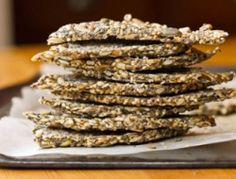 Crackers semillas de chia