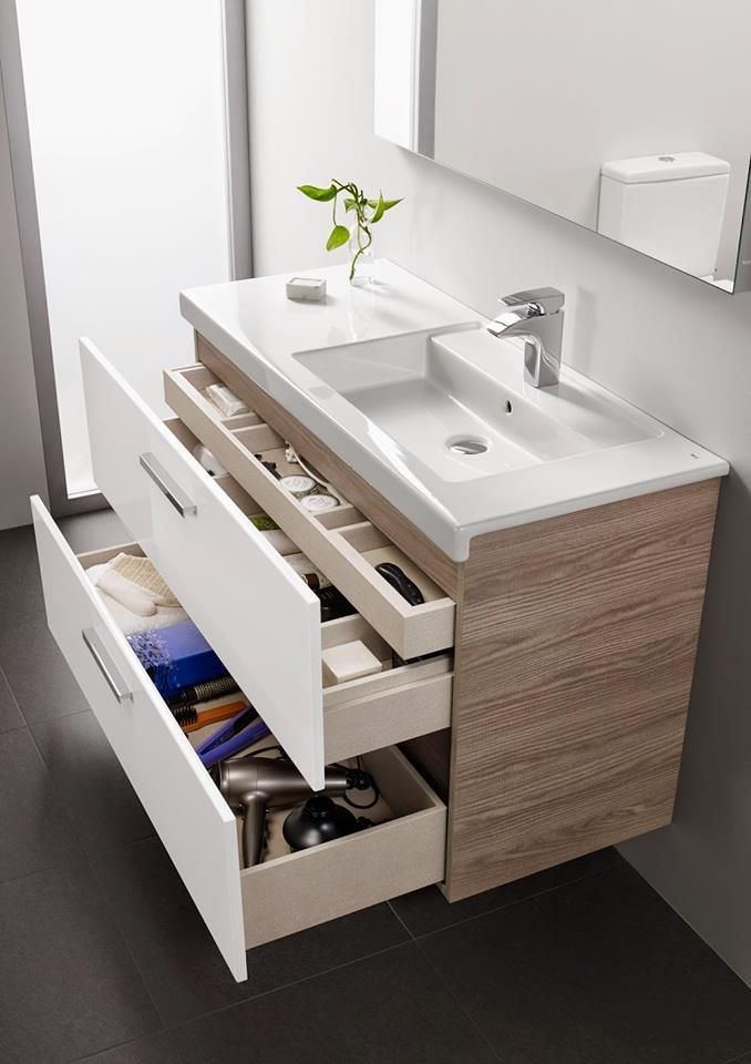 Staying In A Small Space Can Pose A Challenge Yet With Some Storage Ideas For Small Space A New Small Bathroom Vanities Modern Small Bathrooms Trendy Bathroom