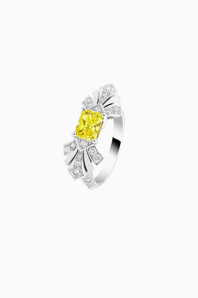 Желтые бриллианты для теплых летних дней | Украшения | VOGUE