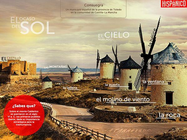 Learn spanish words with this desktop wallpaper. DOWNLOAD FOR FREE: http://www.hispanico.pl/tapeta-edukacyjna-consuegra // #Hiszpania #tapeta #pulpit #spain #spanish #espanol #espana #wallpaper #desktop #words #learn