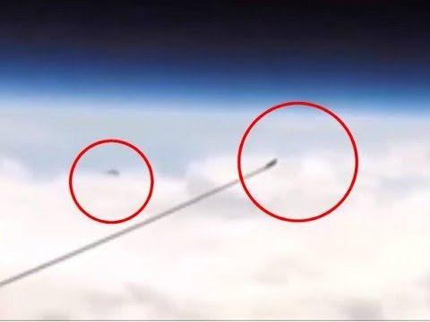 OVNI captado en trasmision en vivo de la NASA