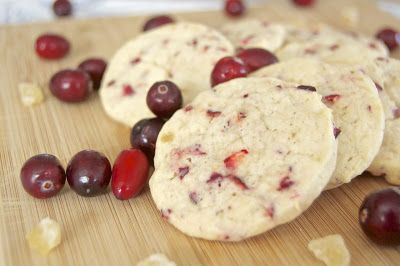365 Days of Baking and More: Cranberry Ginger Sugar Cookies