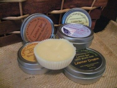 Candy & Cream Soap Works - Our new addition -Wonderful Goats Milk Lotion Bars -Made with Skin Soothing Oils & Creamy Goats Milk