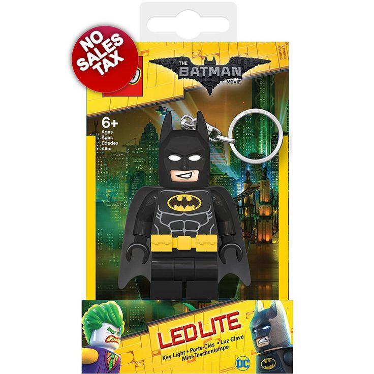 LEGO Batman Mini Figure LED Keychain Light Illuminating