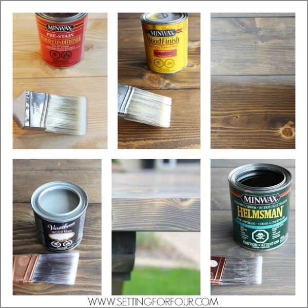 How to get that gorgeous Restoration Hardware color - Beautiful Grey Wash Finish for a salvaged decor look! See these wood staining steps and my $157 DIY Farmhouse table!