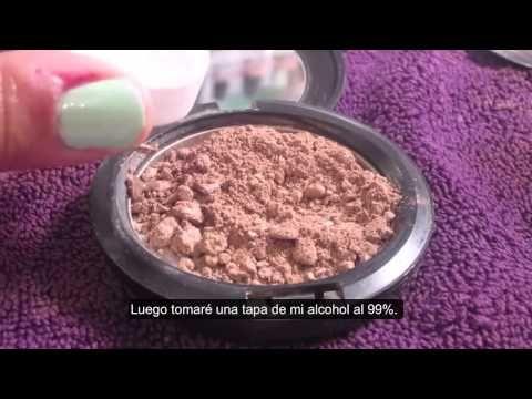 DIY: Como reparar maquillaje roto - YouTube
