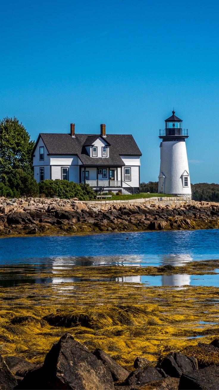 Prospect Harbor Lighthouse, Maine- by photoMakak
