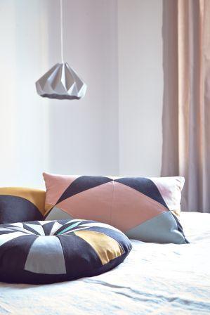 Place de Bleu SS14, Star Cushion, Butterfly Cushion & Samur Cushion.