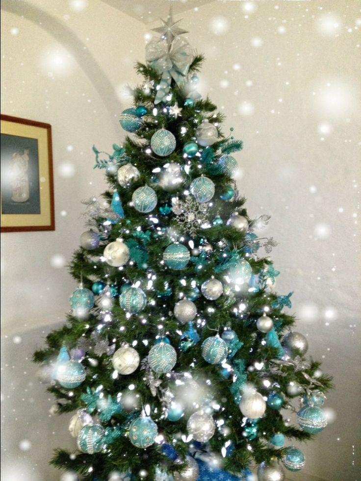 Lighted Christmas Tree Wall Hanging