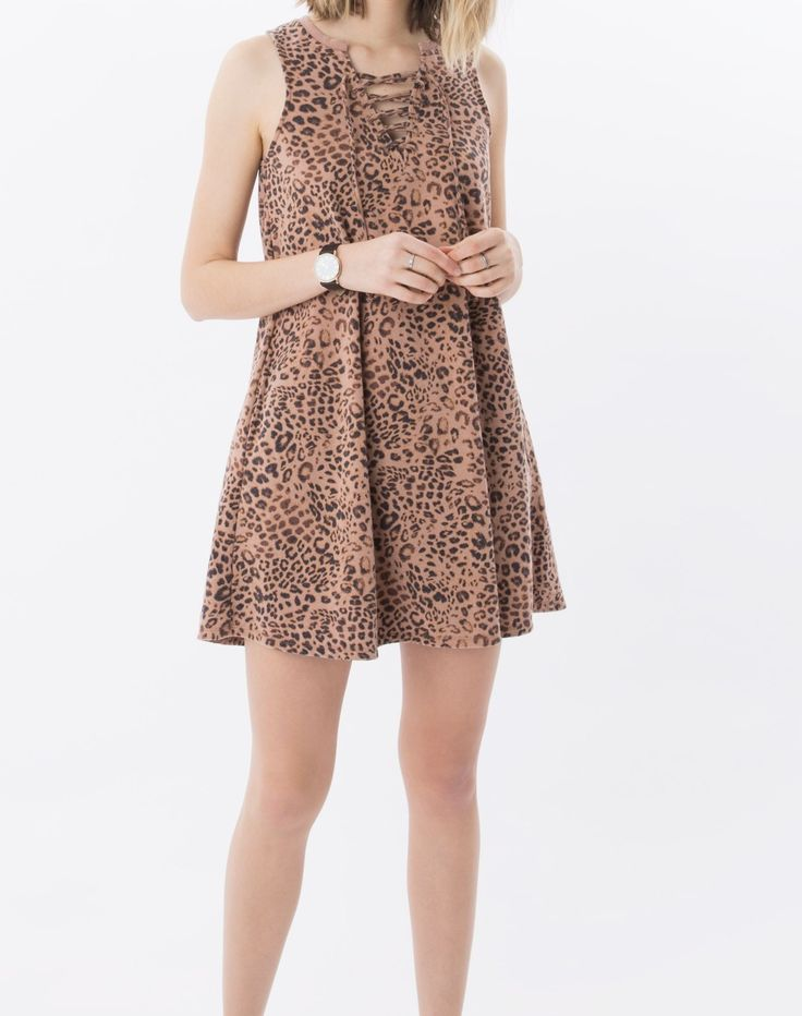 The Leopard All Tied Up Dress