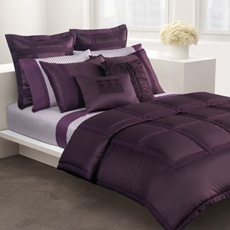 i'm thinking a change is in order for my bedroom and this purple is beautiful!
