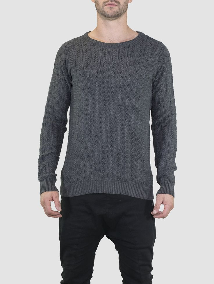 Horace Jumper Charcoal