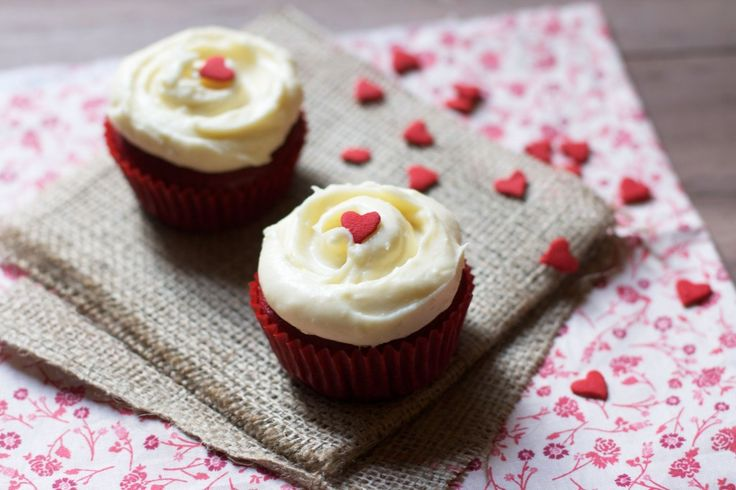 A Great Idea but I like having extra cupcakes so I can eat more of them :) Red Velvet Cupcakes for Two