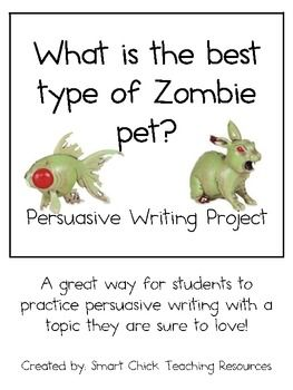 Persuasive essay on zombies