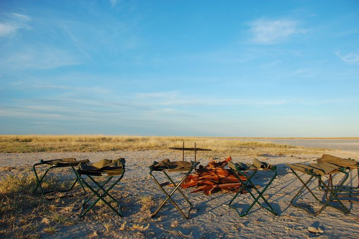 Makgadikgadi camp site