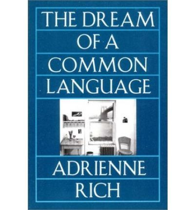 This is a reissue in a new format of a book of verse by Adrienne Rich, whose