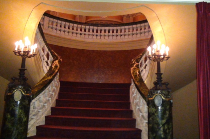 This beautiful staircase is your gateway to one of Chicago's truly legendary ballrooms. http://www.discjockey.org/
