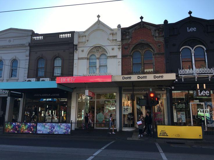 Chapel street Melbourne November 2015