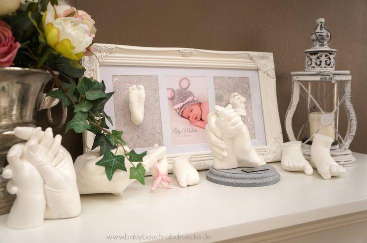 3D baby casting - Atelier Body-pArts wwww.babybauch-abdruecke.de