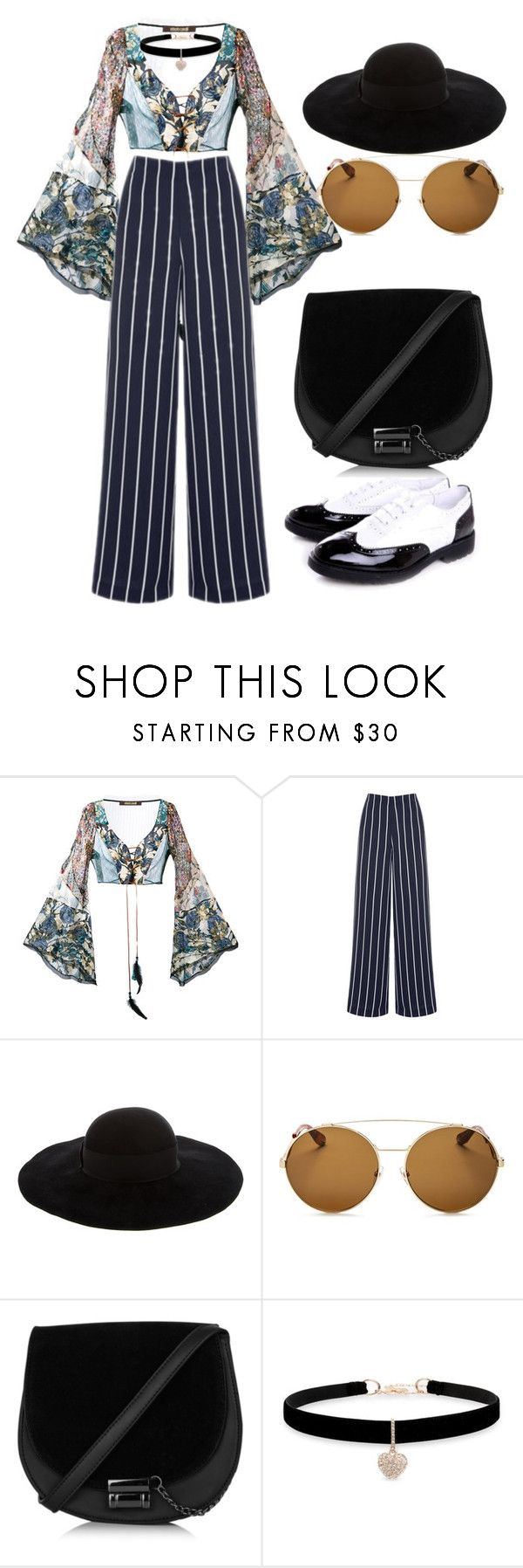 """""""for sheidlina 2"""" by dianacrystal on Polyvore featuring Roberto Cavalli, Warehouse, Eugenia Kim, Givenchy and Betsey Johnson"""