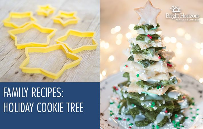 Family Recipes: Holiday Cookie Tree - Need cookie ideas? This is perfect for a winter holiday centerpiece! Holiday baking at it's best!