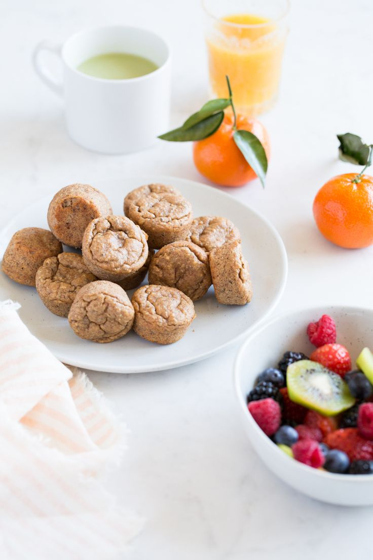 Flourless Bite-Sized Breakfast Muffins — Oh She Glows