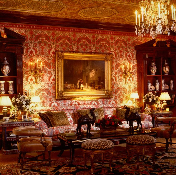 67 best some rooms of mine images on pinterest english for Victorian villa interior design