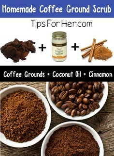 Fade stretch marks, exfoliate and reduce the appearance of cellulite with this super awesome coffee scrub! Caffeine helps to improve blood circulation and also firms and tightens the skin.