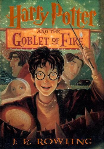 Harry Potter And The Goblet Of Fire, Book 4 of the Harry Potter Series By J.K. Rowling #books #movies #yalit