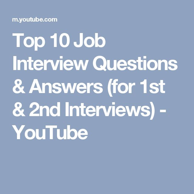 questions for 2nd interview
