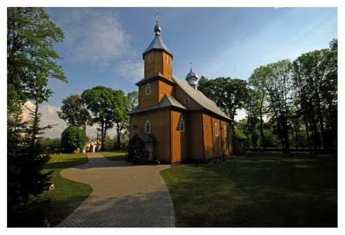 Nowoberezowo. St. John the Theologian Orthodox church from 1771