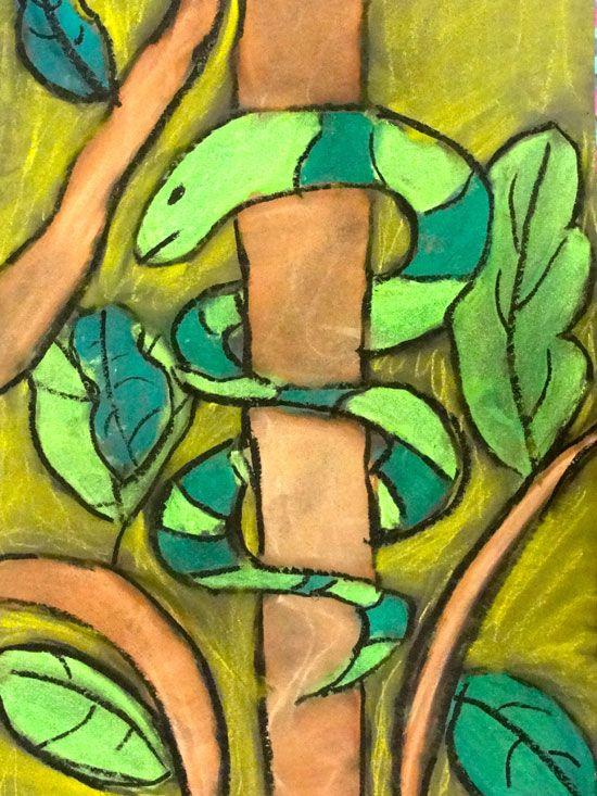 africa rainforest art ks2 - Google Search