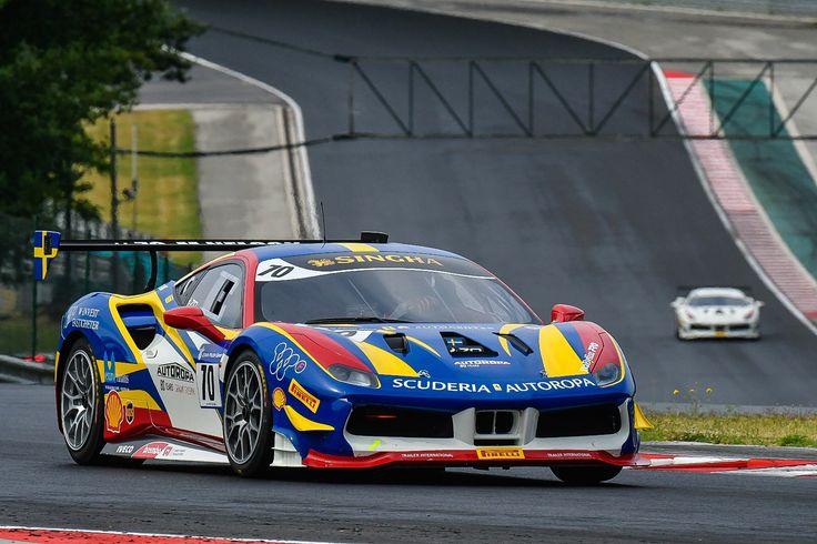 Ferrari Challenge a Hungaroringen most hétvégén