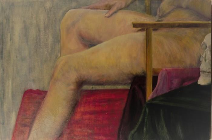 Large man in chair cinzia syndy esteves bluethumb art