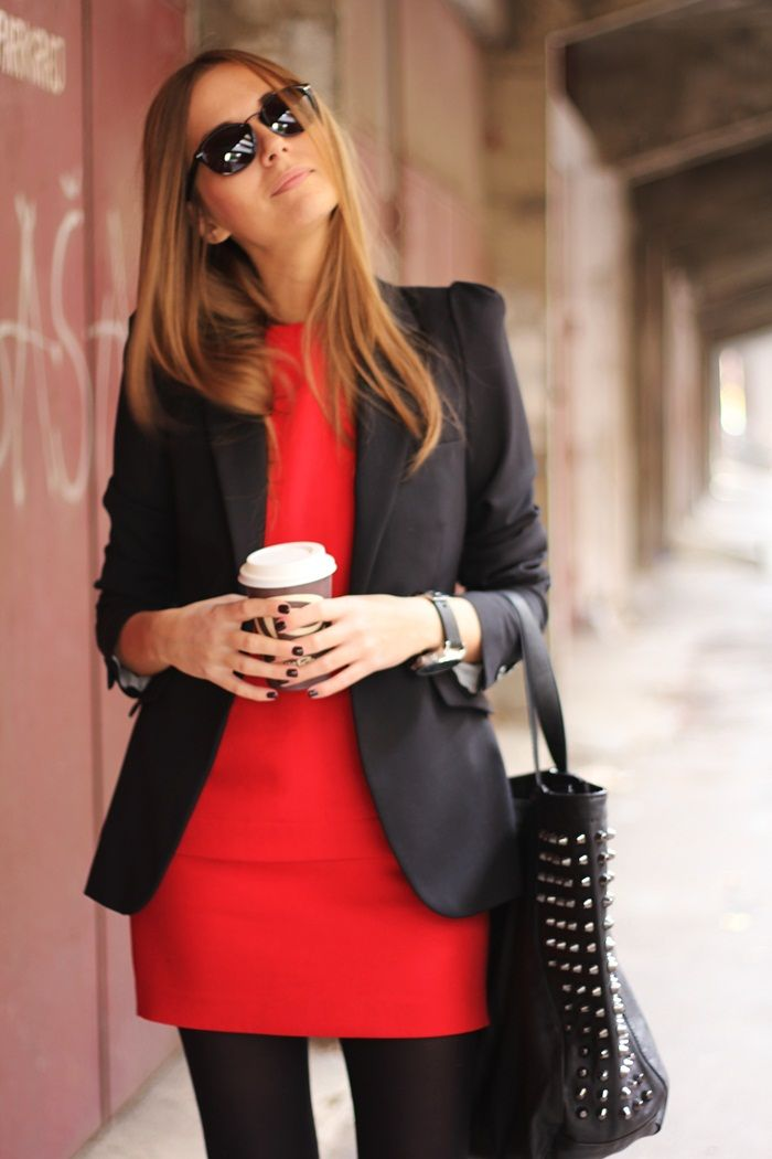 Best 25 zara red dress ideas on pinterest red coat Fashion style questionnaire sample
