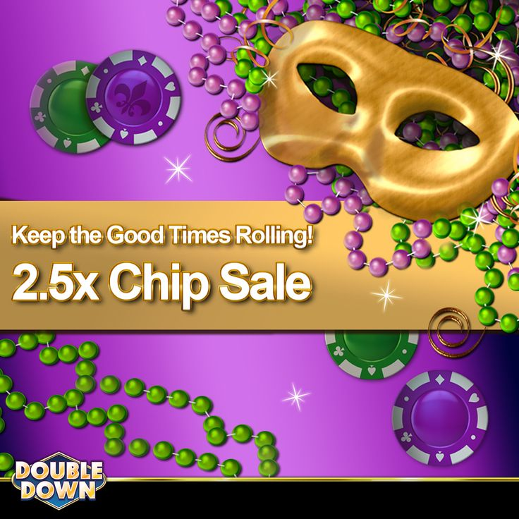 (EXPIRED) Fat Tuesday is a great time to beef up your chip stack! There are 2.5x chips in every package today. Get 150,000 FREE chips and buy now when you tap the Pinned Link (or use code QQHPFR)
