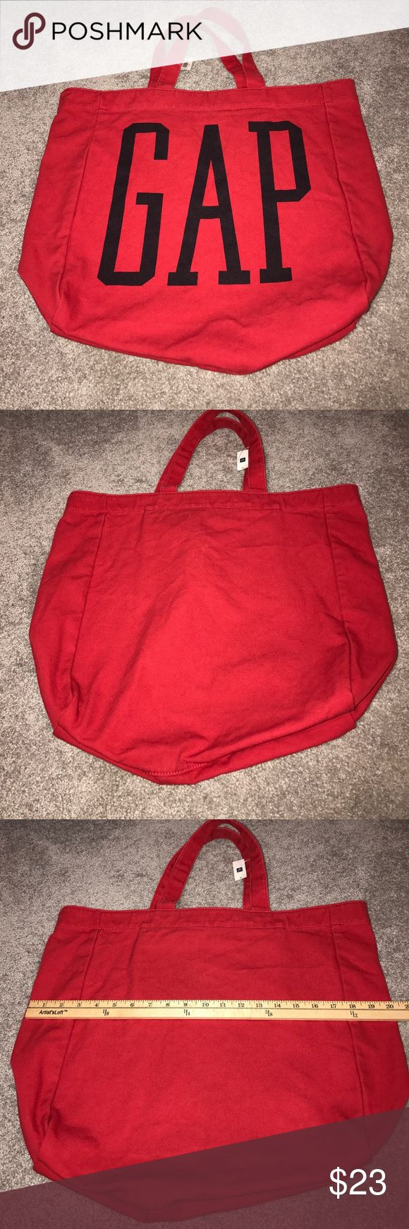 GAP TOTE BAG NWT RED/BLUE GAP TOTE BAG NWT RED/BLUE GAP Bags Totes