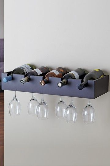 HauteLook | Functional Wall Decor By Nexxt: Ellington Wine Rack - Java