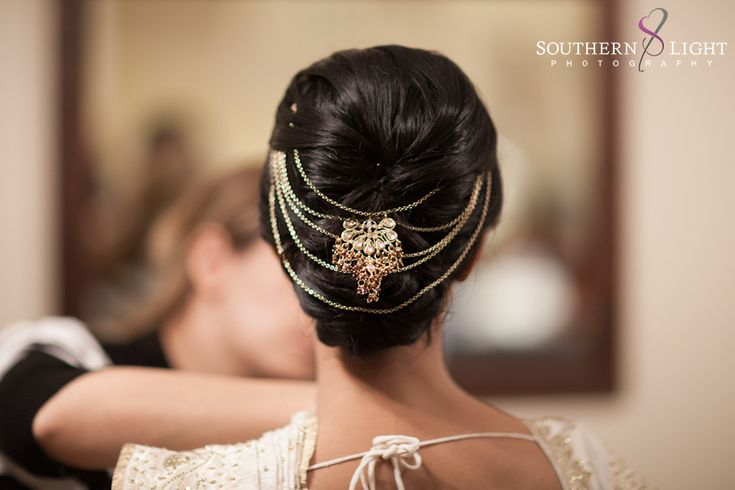 Beautiful Indian Brides - hair detail