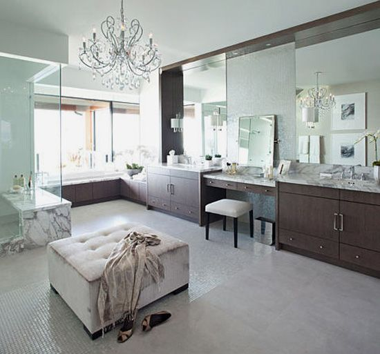 1000 images about his and her bathroom on pinterest for Dream master bathroom