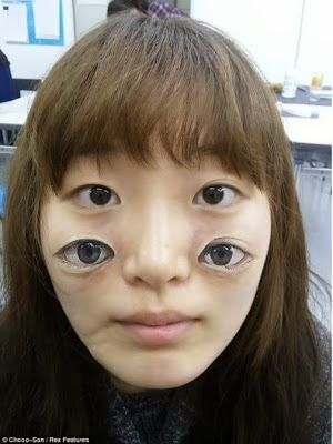 """Gives new meaning to the phrase """"eye makeup"""""""