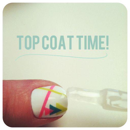 such a great idea: Nails Art, Nails Stickers, Nailart, Nails Polish, Nail Stickers, Tape Nails, Nails Decals, Nail Art, Diy Nails