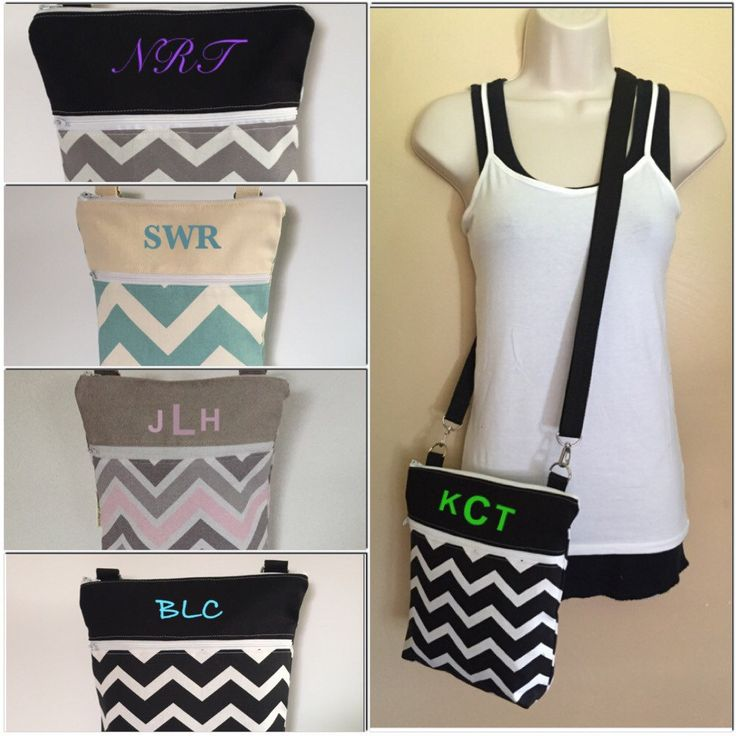 New to Sewdivine77 on Etsy: SaleCHOOSE your CHEVRON and PERSONALIZE it if you want adjustable crossbody/sling bag (24.99 USD)