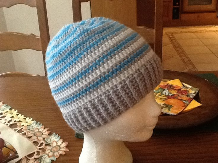 Chlapčenská hačkovaná čiapka