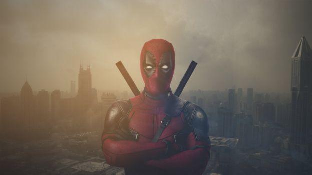 Deadpool HD Wallpaper by griffynswald