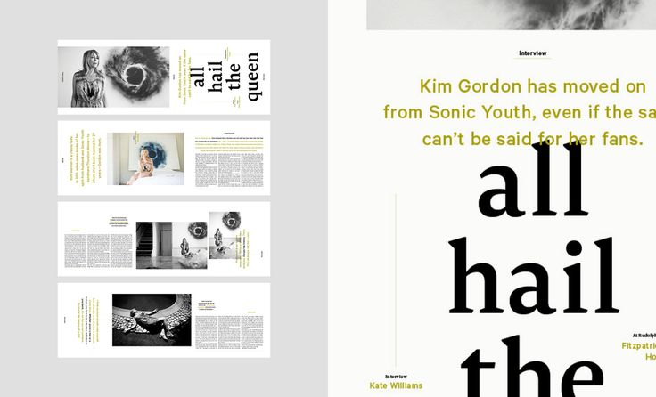 Editorial Design— All Hail The Queen, Monster Children No.44