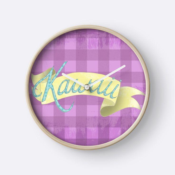 Kawaii Clock by Squibble Design