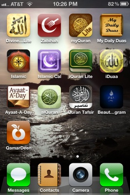 iPhone (and some Android) apps for your deen. #Islam #Ramadan #Quran