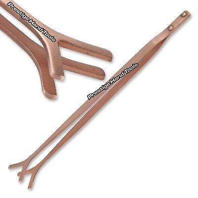 "Copper Pickling Tongs Tweezers for acid Solution Jewelry Tools Prestige 8.5/"""